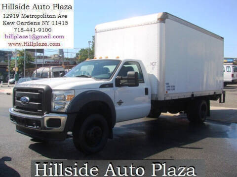 2012 Ford F-550 Super Duty for sale at Hillside Auto Plaza in Kew Gardens NY
