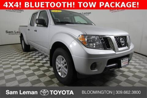 2017 Nissan Frontier for sale at Sam Leman Toyota Bloomington in Bloomington IL