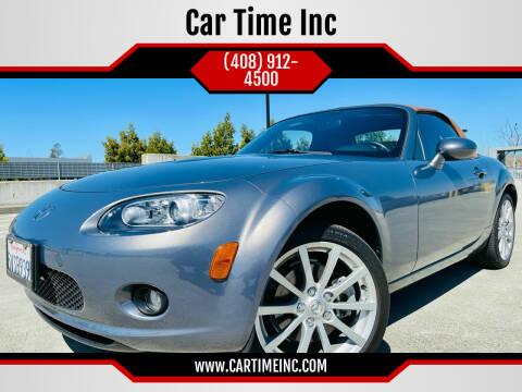 2006 Mazda MX-5 Miata for sale at Car Time Inc in San Jose CA