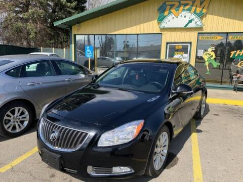 2012 Buick Regal for sale at RPM AUTO SALES in Lansing MI