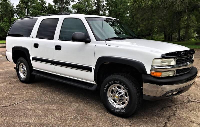 2002 Chevrolet Suburban for sale at Prime Autos in Vidor TX