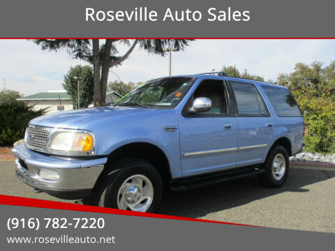 1997 Ford Expedition for sale at Roseville Auto Sales in Roseville CA