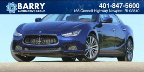 2014 Maserati Ghibli for sale at BARRYS Auto Group Inc in Newport RI