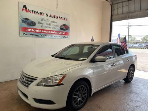 2015 Nissan Sentra for sale at Antonio's Auto Sales - Antonio`s  2206 in Pasadena TX