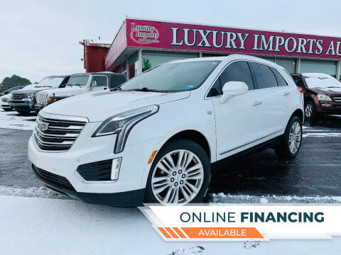 2018 Cadillac XT5 for sale at LUXURY IMPORTS AUTO SALES INC in North Branch MN