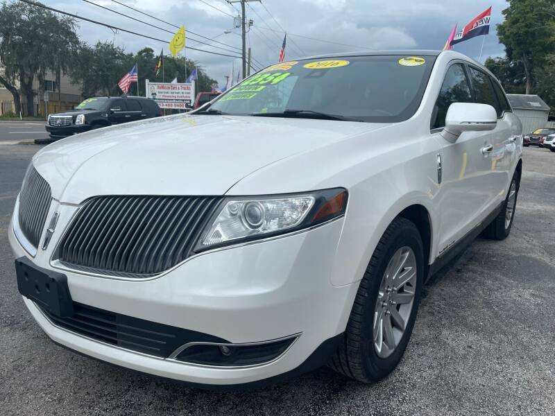 2015 Lincoln MKT Town Car for sale at RoMicco Cars and Trucks in Tampa FL