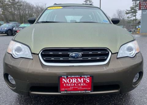 2007 Subaru Outback for sale at NORM'S USED CARS INC in Wiscasset ME