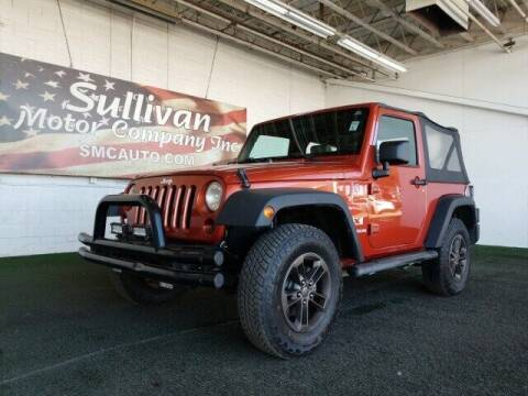 2009 Jeep Wrangler for sale at SULLIVAN MOTOR COMPANY INC. in Mesa AZ
