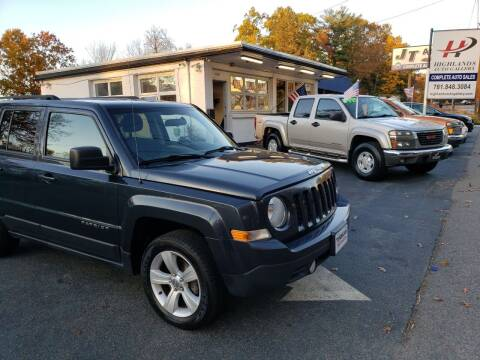 2015 Jeep Patriot for sale at Highlands Auto Gallery in Braintree MA