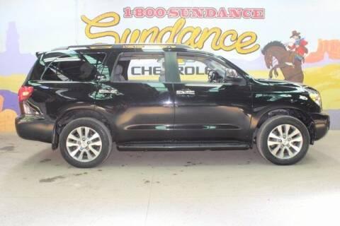 2017 Toyota Sequoia for sale at Sundance Chevrolet in Grand Ledge MI