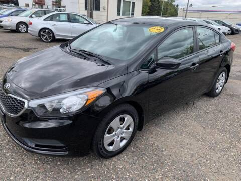 2014 Kia Forte for sale at CHRISTIAN AUTO SALES in Anoka MN