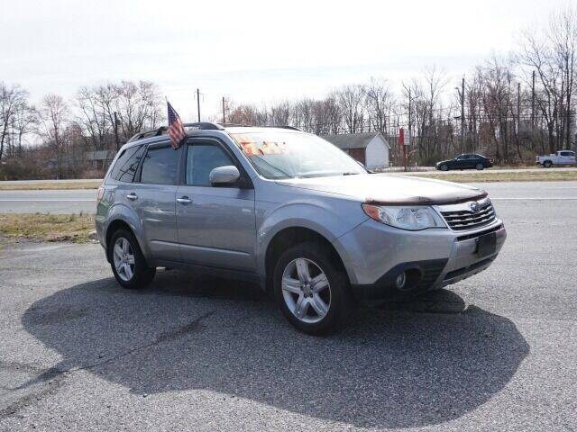 2010 Subaru Forester for sale at Budget Auto Sales & Services in Havre De Grace MD