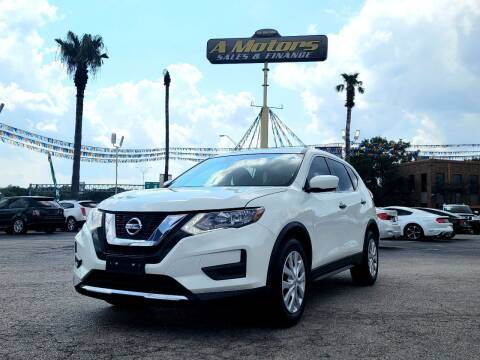 2017 Nissan Rogue for sale at A MOTORS SALES AND FINANCE - 6226 San Pedro Lot in San Antonio TX