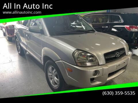 2006 Hyundai Tucson for sale at All In Auto Inc in Addison IL