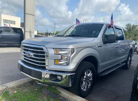 2016 Ford F-150 for sale at MANA AUTO SALES in Miami FL