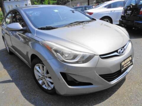 2014 Hyundai Elantra for sale at Yosh Motors in Newark NJ