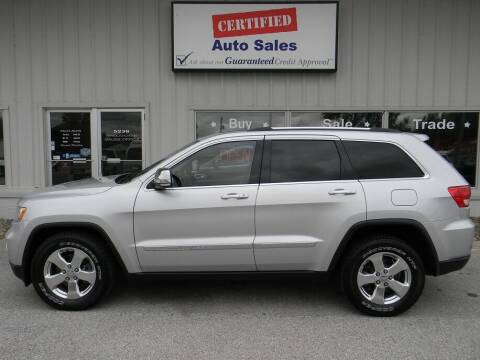 2011 Jeep Grand Cherokee for sale at Certified Auto Sales in Des Moines IA