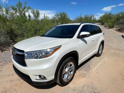 2016 Toyota Highlander for sale at Auto Executives in Tucson AZ