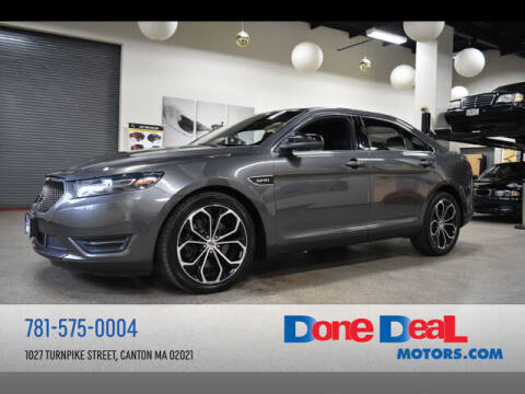 2015 Ford Taurus for sale at DONE DEAL MOTORS in Canton MA