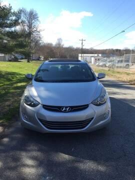 2012 Hyundai Elantra for sale at Speed Auto Mall in Greensboro NC