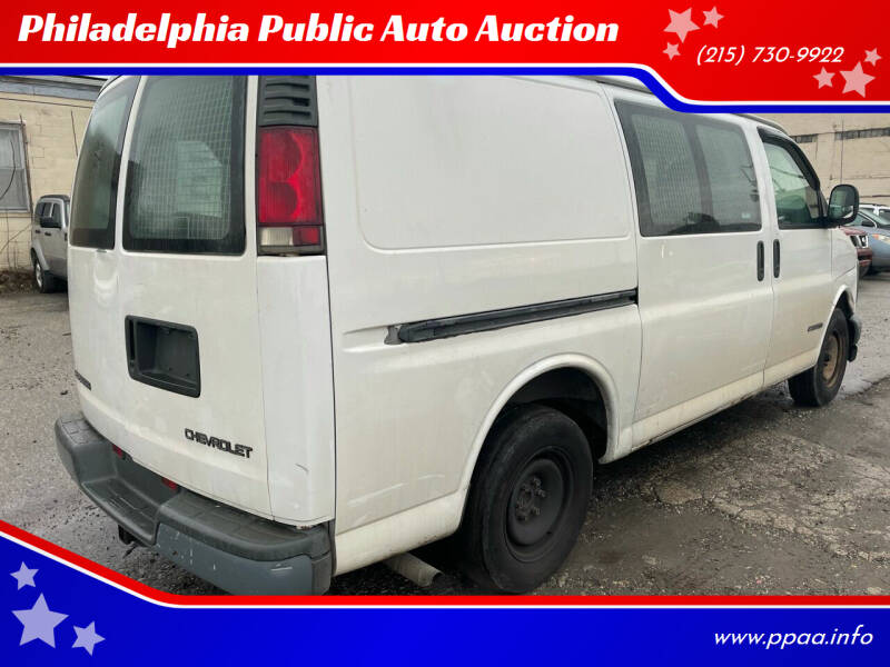 1999 Chevrolet Express Cargo for sale at Philadelphia Public Auto Auction in Philadelphia PA