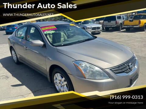 2011 Nissan Altima for sale at Thunder Auto Sales in Sacramento CA