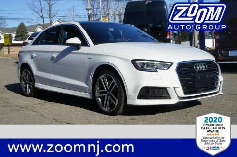 2017 Audi A3 for sale at Zoom Auto Group in Parsippany NJ