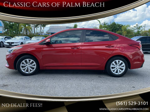 2018 Hyundai Accent for sale at Classic Cars of Palm Beach in Jupiter FL