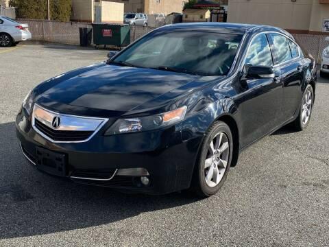 2013 Acura TL for sale at MAGIC AUTO SALES - Magic Auto Prestige in South Hackensack NJ