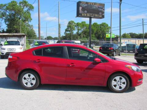 2016 Kia Forte for sale at Checkered Flag Auto Sales EAST in Lakeland FL