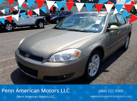 2006 Chevrolet Impala for sale at Penn American Motors LLC in Allentown PA