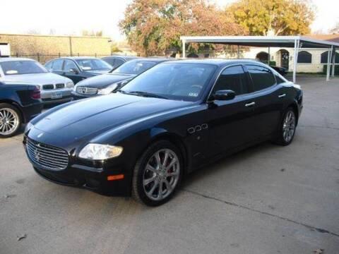 2006 Maserati Quattroporte for sale at German Exclusive Inc in Dallas TX