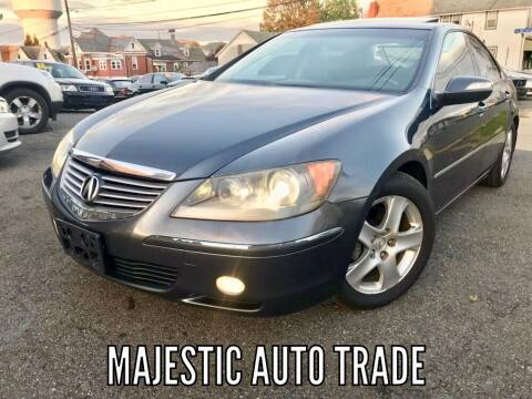 2006 Acura RL for sale at Majestic Auto Trade in Easton PA