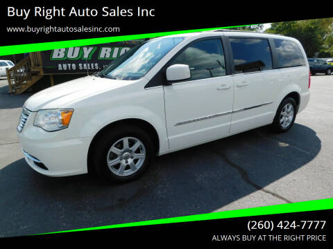 2012 Chrysler Town and Country for sale at Buy Right Auto Sales Inc in Fort Wayne IN