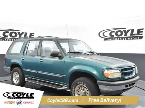1998 Ford Explorer for sale at COYLE GM - COYLE NISSAN - New Inventory in Clarksville IN