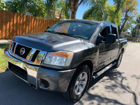 2008 Nissan Titan for sale at FINANCIAL CLAIMS & SERVICING INC in Hollywood FL