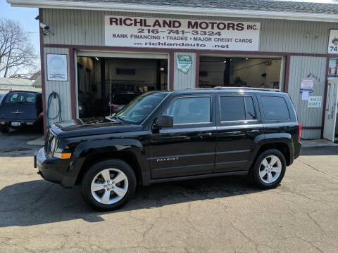 2012 Jeep Patriot for sale at Richland Motors in Cleveland OH