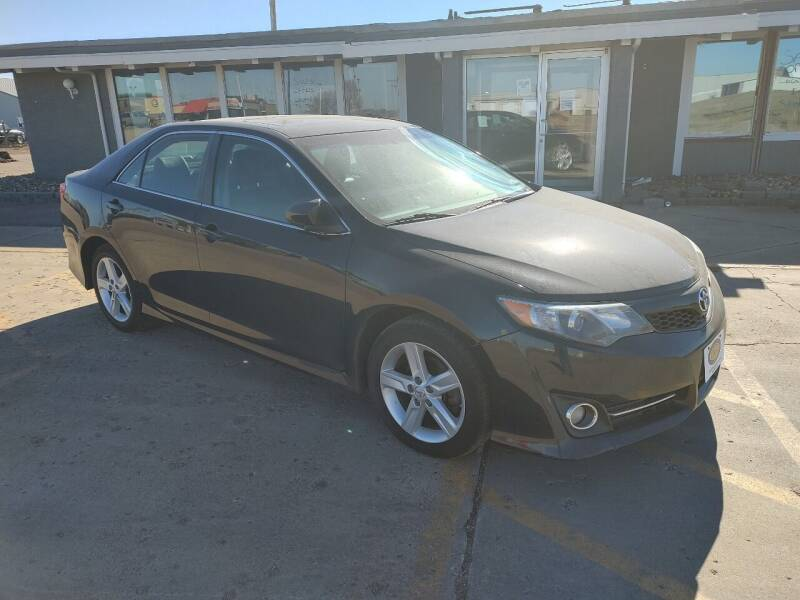 2013 Toyota Camry for sale at BERG AUTO MALL & TRUCKING INC in Beresford SD