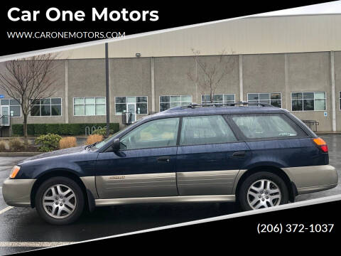2003 Subaru Outback for sale at Car One Motors in Seattle WA