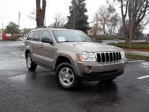 2005 Jeep Grand Cherokee for sale at CORTEZ AUTO SALES INC in Marietta GA
