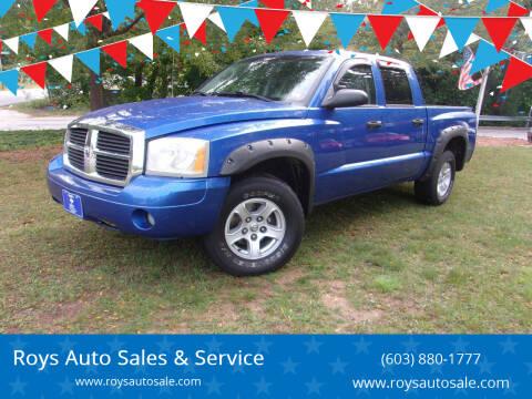 2007 Dodge Dakota for sale at Roys Auto Sales & Service in Hudson NH