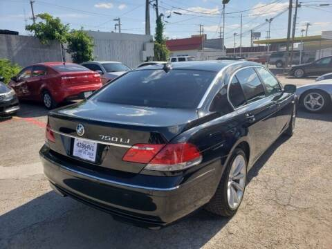 2008 BMW 7 Series for sale at DFW AUTO FINANCING LLC in Dallas TX