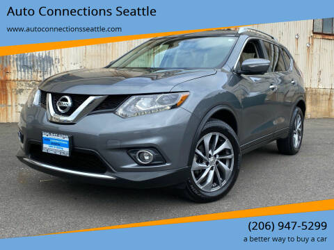 2015 Nissan Rogue for sale at Auto Connections Seattle in Seattle WA