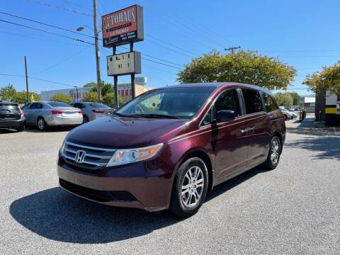 2011 Honda Odyssey for sale at Autohaus of Greensboro in Greensboro NC