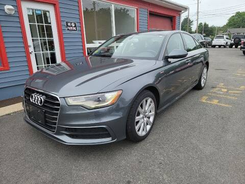 2014 Audi A6 for sale at Top Quality Auto Sales in Westport MA