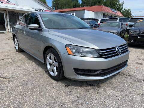 2013 Volkswagen Passat for sale at SR Motors Inc in Gainesville GA