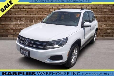 2017 Volkswagen Tiguan for sale at Karplus Warehouse in Pacoima CA