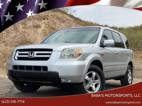 2006 Honda Pilot for sale at Baba's Motorsports, LLC in Phoenix AZ