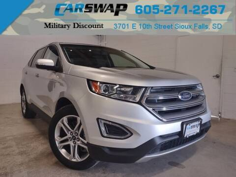 2018 Ford Edge for sale at CarSwap in Sioux Falls SD