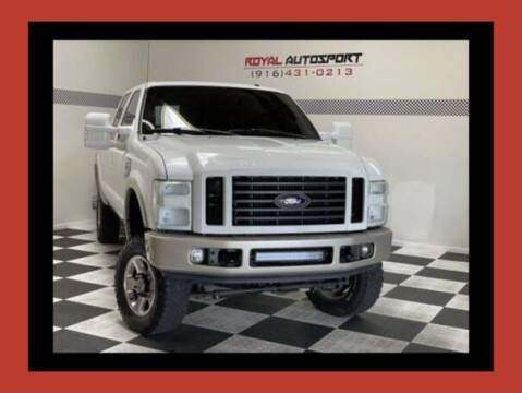 2008 Ford F-250 Super Duty for sale at Royal AutoSport in Sacramento CA